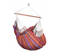 Colombian Hammock Chair Large CAROLINA flowers