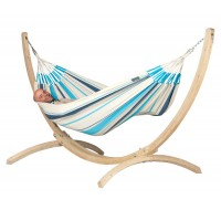 Stand and double hammock CANOA