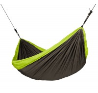 Double Travel Hammock COLIBRI green