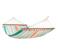 Colombian weatherproof Double Hammock with spreader bars COLADA curaçao