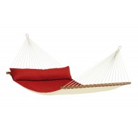 Kingsize Hammock with spreader bars ALABAMA red pepper