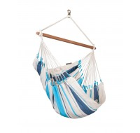 Colombian Hammock Chair Basic CARIBEÑA aqua blue