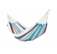 Colombian Single Hammock CARIBEÑA aqua blue