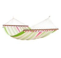 Hammock. Colombian weatherproof Double Hammock with spreader bars COLADA kiwi