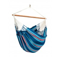 Colombian Hammock Chair Lounger CURRAMBERA blueberry