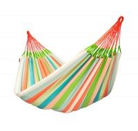 Colombian weatherproof Family Hammock DOMINGO coral