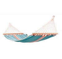 Colombian Single Hammock with spreader bars FRUTA curaçao