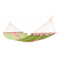 Colombian Single Hammock with spreader bars FRUTA kiwi