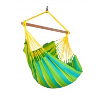 Colombian weatherproof Hammock Chair Basic SONRISA lime